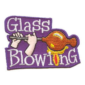 S-2176 Glass Blowing Patch