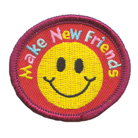 S-2185 Make New Friends Patch