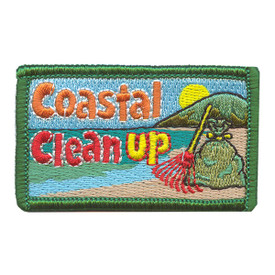 S-2186 Coastal Clean Up Patch
