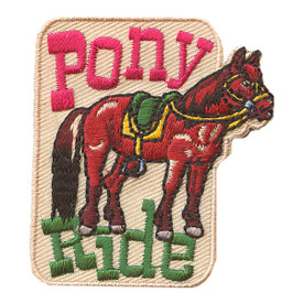 S-2189 Pony Ride Patch
