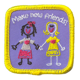 S-2191 Make New Friends! Patch