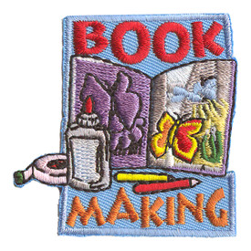 S-2193 Book Making Patch