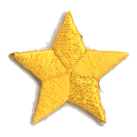 S-0059AG Star - Athletic Gold Patch