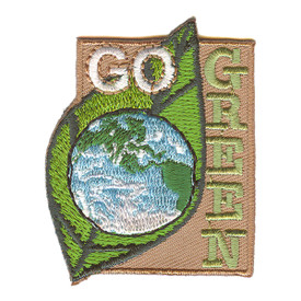 S-2195 Go Green Patch