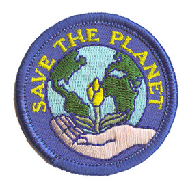 S-2196 Save The Planet Patch
