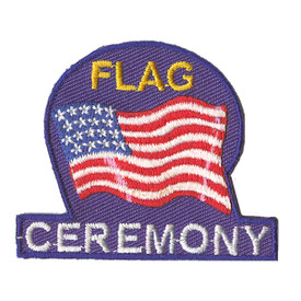 S-2198 Flag Ceremony Patch