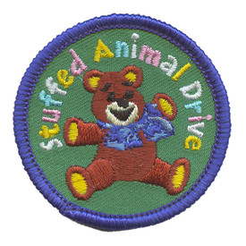 S-2210 Stuffed Animal Drive Patch