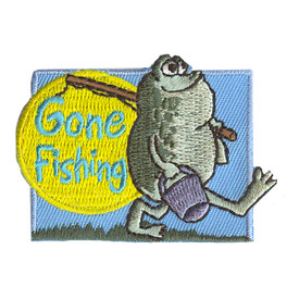 S-2213 Gone Fishing Patch