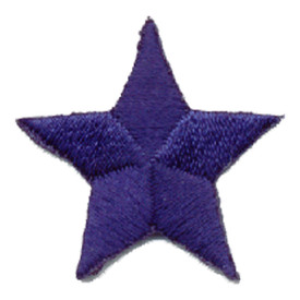 S-0059B Star - Royal Blue Patch
