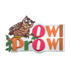 S-2220 Owl Prowl Patch