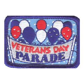 S-2225 Veterans Day Parade Patch