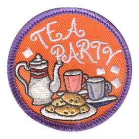 S-2234 Tea Party Patch