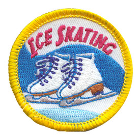 S-2243 Ice Skating Patch