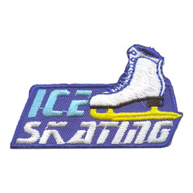 S-2244 Ice Skating ( One Skate) Patch