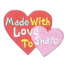 S-2246 Made With Love To Share Patch