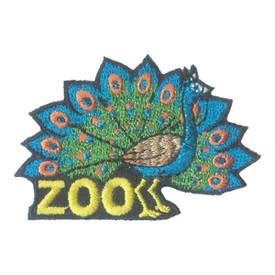 S-2256 Zoo (Peacock) Patch