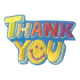 S-2262 Thank You Patch