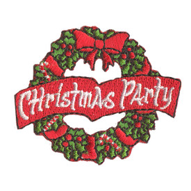 S-2271 Christmas Party Patch