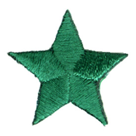 S-0059GR Star - Kelly Green Patch