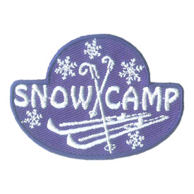 S-2286 Snow Camp (Skis) Patch