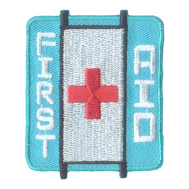 S-2296 First Aid (Stretcher) Patch