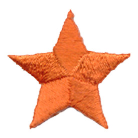 S-0059O Star - Orange Patch