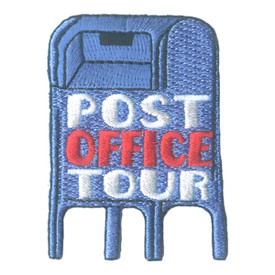 S-2321 Post Office Tour Patch