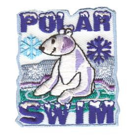 S-2325 Polar Swim (Polar Bear) Patch