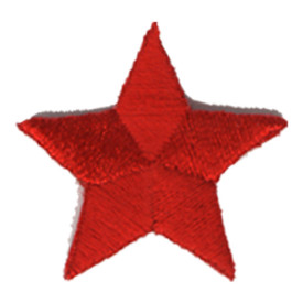 S-0059R Star - Red Patch