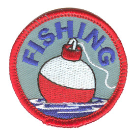 S-2339 Fishing (Bobber) Patch
