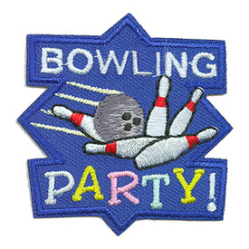 S-2342 Bowling Party Patch