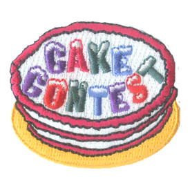 S-2361 Cake Contest Patch