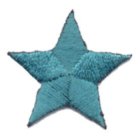 S-0059T Star - Teal Patch