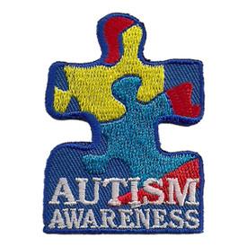 S-2368 Autism Awareness Patch