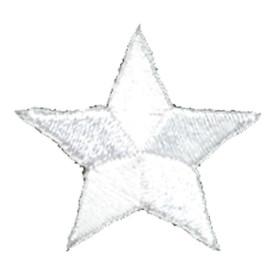 S-0059W Star - White Patch