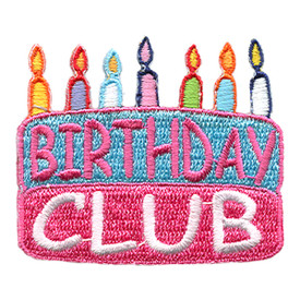S-0065 Birthday Club (Cake) Patch