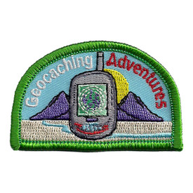 S-2421 Geocaching Adventures Patch