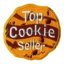 S-2423 Top Cookie Seller Patch