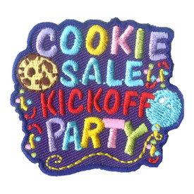 S-2425 Cookie Sale Kickoff Patch