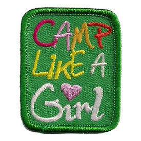 S-2434 Camp Like A Girl Patch