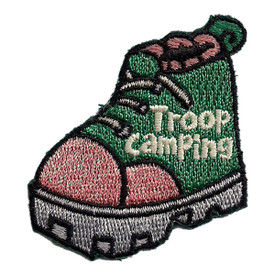 S-2435 Troop Camping (Boot) Patch