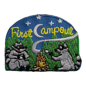 S-2437 First Camp Out Patch