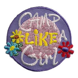 S-2438 Camp Like A Girl Patch
