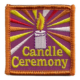 S-2440 Candle Ceremony Patch