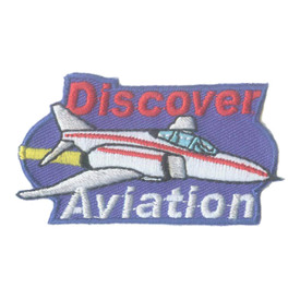 S-2446 Discover Aviation Patch