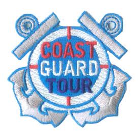 S-2448 Coast Guard Tour Patch