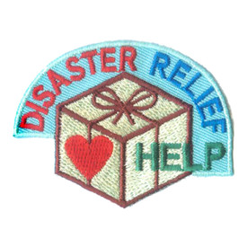 S-2459 Disaster Relief Help Patch