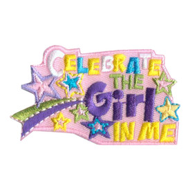 S-2467 Celebrate The Girl In Me Patch