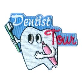 S-2473 Dentist Tour Patch