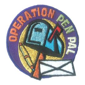 S-2482 Operation Pen Pal Patch